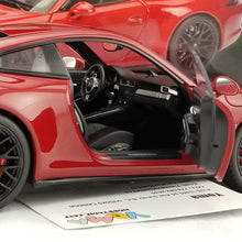 Schuco 1/18 Porsche 911 Carrera GTS Coupe Red Diecast Model Car 450039000