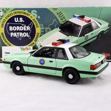 GMP 1/18 1988 Ford Mustang United States Border Patrol SSP Diecast Model Car GMP-18845