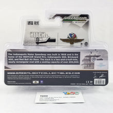 GreenLight 1/64 Hitch & Tow - Chevrolet Silverado and Indianapolis Motor Speedway Gift Shop Trailer Diecast Model Car 29906