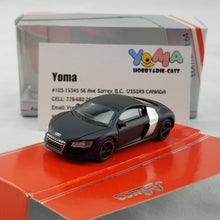 Schuco 1/64 Audi R8 Coupe concept black Diecast Model Car 452012700