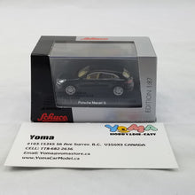Schuco 1/87 Porsche Macan S Black Diecast Model Car 452616300