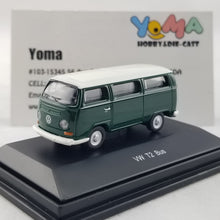 Schuco 1/87 Volkswagen T2 bus green/white Diecast Model Car 452622600
