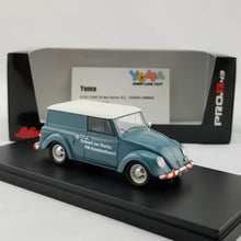 Schuco 1/43 Volkswagen small vehicle Volkswagen kombi Service blue Resin Model Car 450900900