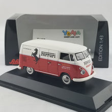 Schuco 1/43 Volkswagen T1c box van Ferrari Automobile Francorchamps Diecast Model Car 450369800