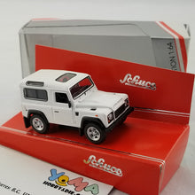 Schuco 1/64 Land Rover Defender white Diecast Model Car 452013400
