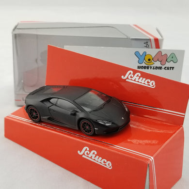 Schuco 1/64 Lamborghini Huracan black Diecast Model Car 452015100