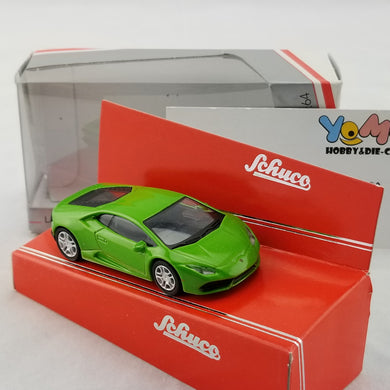 Schuco 1/64 Lamborghini Huracan green Diecast Model Car 452012400