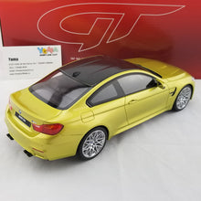 GT Spirit 1/18 BMW M4 Competition Package in Auction Yellow Resin Model Car GT164