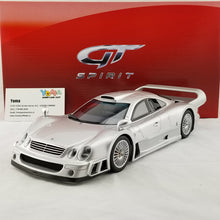 GT Spirit 1/18 Mercedes Benz CLK GTR 1997 Silver Resin Model Car GT154