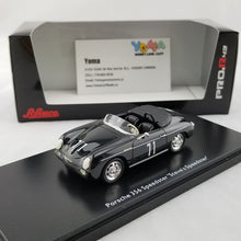 "Schuco 1/43 Porsche 356 Speedster ""Steve's Speedster"" #71 'McQueen' 1st Black Resin Model Car 450883900"