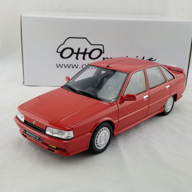 OTTO 1/18 Renault 21 Turbo Phase I MKI 1988 red Resin Model Car OT707