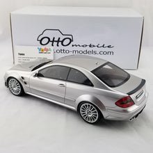 OTTO 1/18 Mercedes-Benz CLK 63 AMG Black Series Silver Resin Model Car OT227