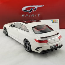 GT Spirit 1/18 Mercedes-Benz S65 Coupe BRABUS 900 Polar White Resin Model Car GT747
