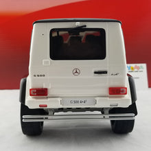 GT Spirit 1/18 Mercedes-Benz G500 4x4 White Resin Model Car GT142