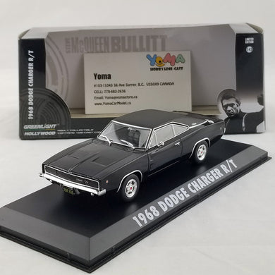 GreenLight 1:43 Bullitt (1968) - 1968 Dodge Charger R/T  86432