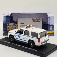 GreenLight 1/43 2012 Chevrolet Tahoe New York City Police Dept (NYPD) Diecast Model Car 86082