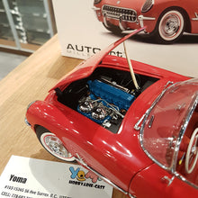 AUTOART 1/18 CHEVROLET CORVETTE 1954 RED 71082