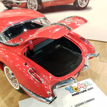 AUTOART 1/18 CHEVROLET CORVETTE 1958 SIGNET RED 71148