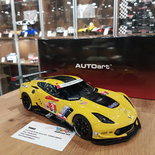 AUTOART 1/18 CHEVROLET CORVETTE C7.R LIME ROCK 2016 2ND PLACE ANTONIO GARCIA/JAN MAGNUSSEN #3 81607