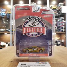 GreenLight 1/64 Green Machine Ford GT Racing Heritage Series 1 - 2017 Ford GT 1966 #5 Ford GT40 Mk II Tribute 13200-C