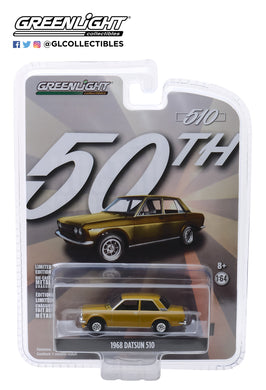 GreenLight 1/64 Anniversary Collection Series 7 - 1968 Datsun 510 Datsun 510 50 Years 27970-A
