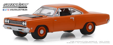 GreenLight 1/64 Anniversary Collection Series 8 - 1968 Plymouth HEMI Road Runner - 426 HEMI 50 Years 27980-C
