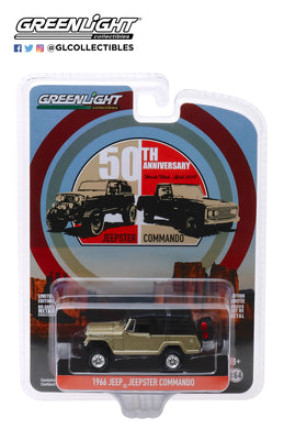 GreenLight 1:64 Anniversary Collection Series 10 - 1966 Kaiser Jeep Jeepster Commando - Moab Utah 2017 50th Anniversary 28020-E