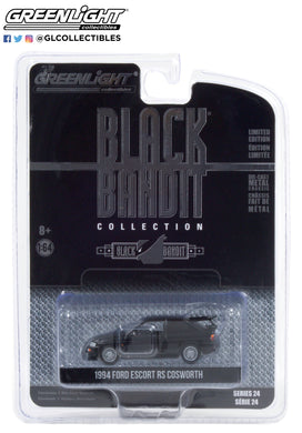 GreenLight 1:64 Black Bandit Series 24 - 1994 Ford Escort RS Cosworth - Black Bandit Rally Racing Team 28050-D