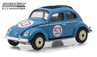 GreenLight 1/64 Club Vee-Dub Series 7 - 1953 Volkswagen Split Window Beetle #53 Nurburgring Racer 29920-A