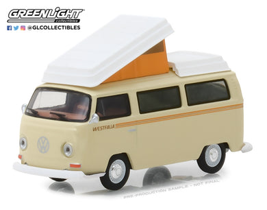 GreenLight 1/64 Club Vee-Dub Series 7 - 1972 Volkswagen Type 2 Campmobile 29920-F