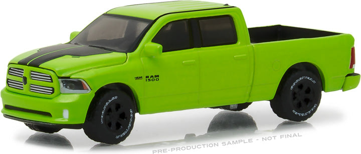 GreenLight 1/64 2017 Dodge Ram 1500 Sport - Sublime Green Pearl Coat Special Edition 29927