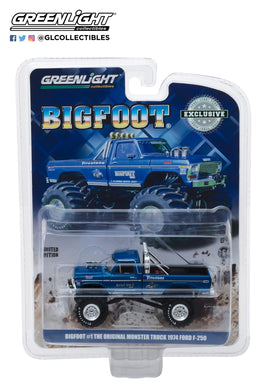 GreenLight 1/64 Bigfoot #1 The Original Monster Truck (1979) - 1974 Ford F-250 Monster Truck 29934
