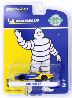 GreenLight 1/64 2017 Ford GT - Michelin Tires 29945