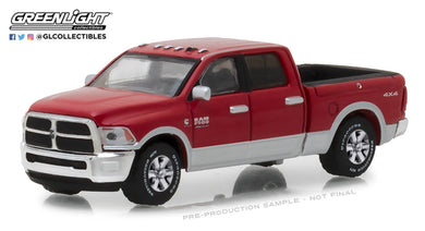 GreenLight 1/64 2018 Dodge Ram 2500 Big Horn - Harvest Edition - Case IH Red 29953