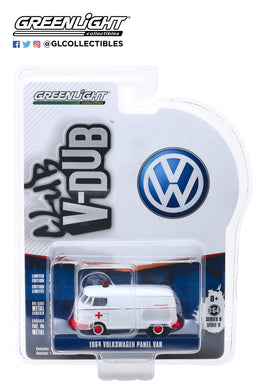 GreenLight 1/64 Club V-Dub Series 9 - 1964 Volkswagen Panel Van Ambulance 29960-A