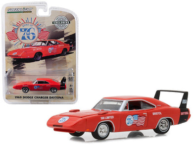 GreenLight 1/64 1969 Dodge Charger Daytona - Spirit of 76 Bristol 500 Limited 29969