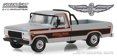 GreenLight 1/64 1979 Ford F-100 63rd Annual Indianapolis 500 Mile Race Official Truck 29979