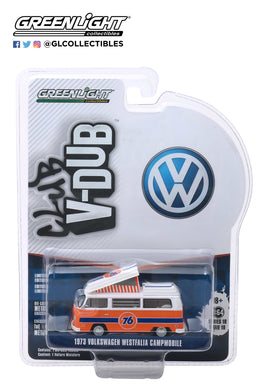 GreenLight 1:64 Club Vee-Dub Series 10 - 1973 Volkswagen Type 2 Westfalia Campmobile - Union 76 29980-B