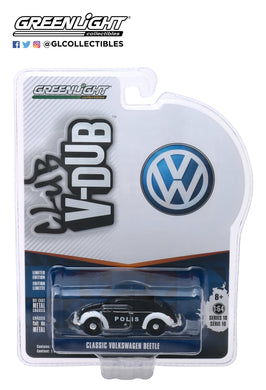 GreenLight 1:64 Club Vee-Dub Series 10 - Classic Volkswagen Beetle - Trollveggen, Norway Polis 29980-F