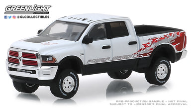 GreenLight 1/64 2016 Dodge Ram 2500 Power Wagon - Bright White Clearcoat 29982