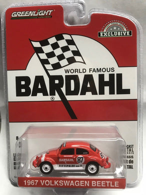 GreenLight 1/64 Bardahl - 1967 Volkswagen Beetle Bardahl #87 Team Fittipaldi 29988