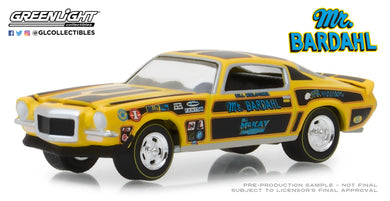 GreenLight 1/64 Bardahl - 1970 Chevrolet Camaro Mr. Bardahl 29989