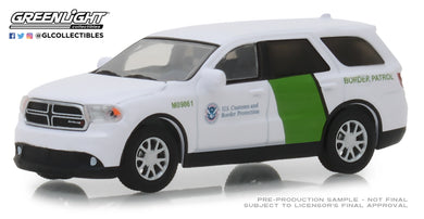 GreenLight 1/64 2018 Dodge Durango - U.S. Customs and Border Protection Border Patrol 29994