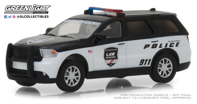 GreenLight 1/64 2017 Dodge Durango Special Service Vehicle - Dodge Law Enforcement Durango Police 29995