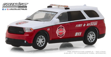 GreenLight 1/64 2017 Dodge Durango Special Service Vehicle - Dodge Durango Fire & Rescue 29996