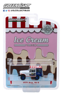 GreenLight 1/64 1975 Jeep DJ-5 Ice Cream Truck 30005