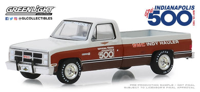 GreenLight 1:64 1983 GMC Sierra Classic 1500 67th Annual Indianapolis 500 Mile Race Official Truck 30028