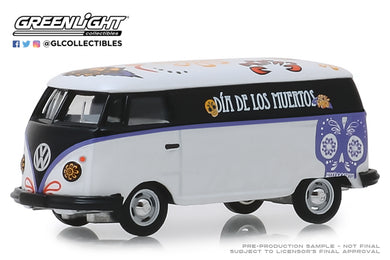 GreenLight 1/64 Volkswagen Type 2 Panel Van - Dia de los Muertos 2019 30040