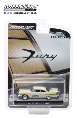 GreenLight 1/64 1957 Plymouth Fury - Daytona Beach Speed Weeks February 3-17, 1957 30046