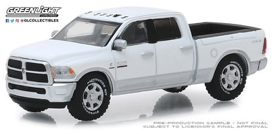 GreenLight 1/64 2018 Dodge Ram 2500 Big Horn - Harvest Edition - Bright White and Bright Silver 30048